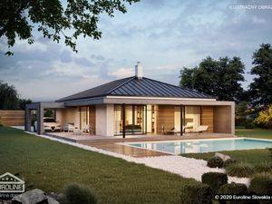 NOVINKA - 4 izbové rodinné domy s dvoma kúpeľňami, terasou a prístreškom na auto