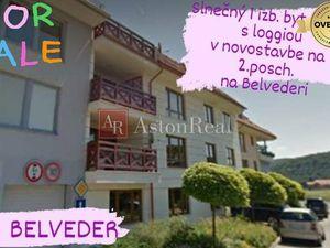 Pripravujeme do ponuky: NOVOSTAVBA 1i byt, 39m2 + loggia 6m2 BELVEDER