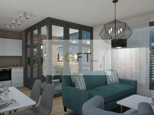 Predaj 3 izbový byt s loggiou v Danubius One, garážové státie, Bratislava-Ružinov