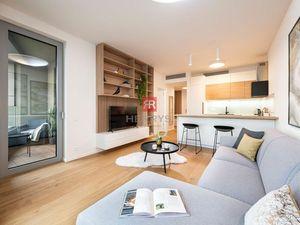 HERRYS - Na prenájom exkluzívny 2 izbový byt v novostavbe SKY PARK na 26. poschodí