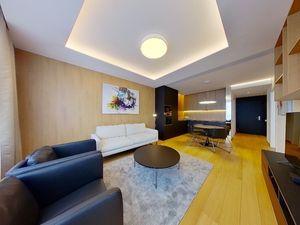 NAJREAL | 3D virtuálna prehliadka, Luxusný 2 - izbový byt v projekte SKY PARK, v centre Bratislavy
