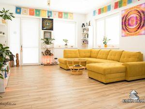 REZERVOVANÝ !! Priestranný 3-izb. byt s charizmou v radovom dome s dvomi byt. jednotkami