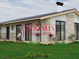 ADOMIS - Predáme novostavba - 4izbový bungalov2, 500m2, nová tichá lokalita obce Ruskov, len 15min z