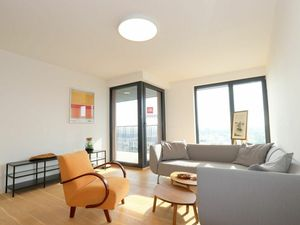 HERRYS - Na prenájom úplne nový krásny 2 izbový byt s výhľadom v projekte Gansberg na Kolibe, parkin