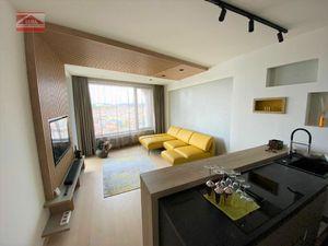 Ponúkame na prenájom krásny, luxusný 2 izbový byt na Továrenskej ulici v novostavbe SKY PARK v centr