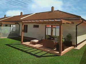 EXKLUZÍVNE IBA U NÁS! Radová výstavba 3-izbových rodinných domov