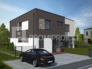 NOVINKA  - 4 izbový rodinný dom v obci Hrubá Borša, Okružná ulice