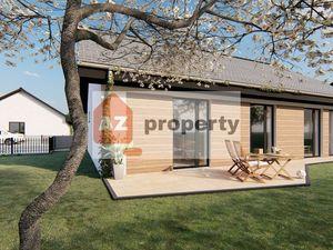 Ponúkame na predaj nový 4-izbový RD typu bungalov s pekným pozemkom v lokalite Čierna Voda