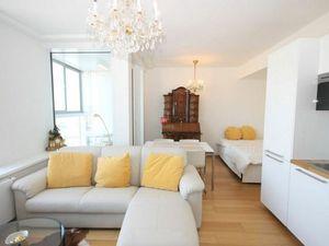 HERRYS - Na prenájom 1 izbového zariadeného apartmánu na 28. poschodí v projekte Panorama City