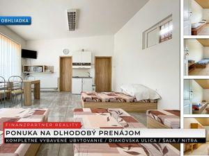 Prenájom - Ubytovanie, Diakovska, Šaľa + 3D