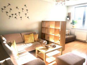 Prenájom 1,5 izbový byt v novostavbe, ulica Gercenova, zariadený, garáž, šatník, Petržalka