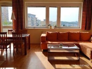 Prenájom pekný 3 izbový byt v novostavbe, ulica Klenova, zariadený,  Kramáre Nové Mesto BA III