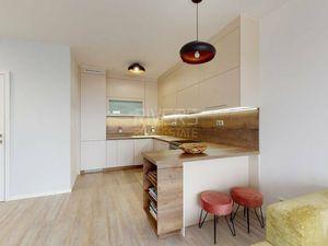 Trojizbový byt v rezidencii Machnáč (3D prehliadka)