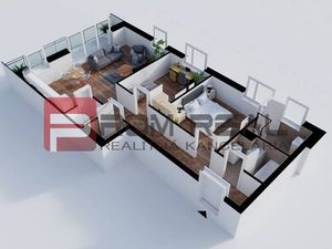 Na predaj 3 izbový byt v novom projekte Byty Rozálka Pezinok - byt 3E