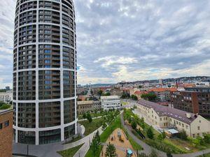 Novostavba: Prenájom 2-izbový byt v SKY PARK, Bratislava I. ulica Továrenská
