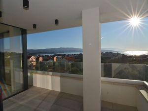 Nový exkluzivní apartmán s výhledem na moře, Krk, Chorvatsko