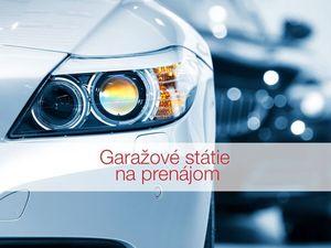 HERRYS - Na prenájom garážové státie v projekte III Veže na Bajkalskej ulici