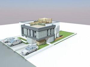 REZERVOVANÉ. 3 izb byt so strešnou terasou a 2 parkovacími miestami vo Viladome/Stupava