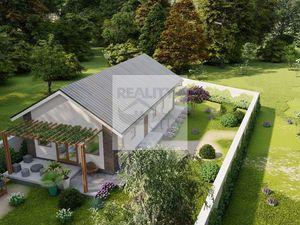 4 - izbový nízkoenergetický rodinný dom  85 m2 obytná plocha, pozemok 860 m2 obec Marialiget - Hegye