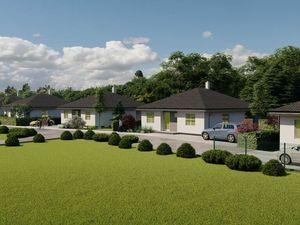 Projekt - Pri parku, predaj 4 izb. rodinných domov v tichej lokalite v blízkosti lesíka, Vieska, Ore