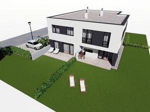 Čoskoro kolaudujeme! Posledné voľné byty!  4 izb. mezonet so záhradou -  štandard, 2 x parkovani