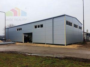 ** Na prenájom novovybudovaná komerčno-priemyselná hala 440 m2 v stave pred dokončením - Nové Mesto