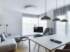 HERRYS - 3D obhliadka - Na prenájom  moderný a funkčný 3 izbový byt s terasou v Bezručova Residence,