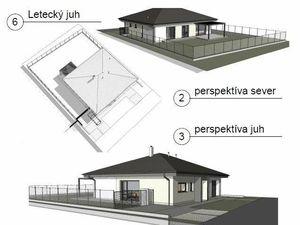 Rodinné domy typu bungalov, novostavba – Jazerné pole, Skalica, 640 m2