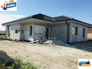 REZERVOVANE: Moderný 4 izbový bungalov 118m2 na pozemku 358m2 - Sládkovičovo.