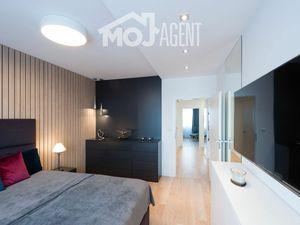 Dizajový, luxusne zariadený 3 izb. byt (90m2) v Ružinove, novostavba, VIDEOPREHLIADKA