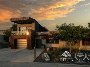 DELTA | NOVÁ CENA Luxusná vila so 7 izbami, bazénom a hosťovským domom