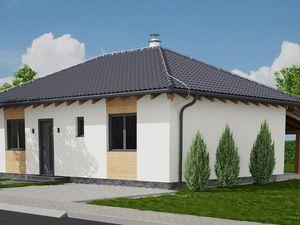 Novostavba, nízkoenergetického rodinného domu v projekte ,, Pod Striebonicou ,, - bungalov 5