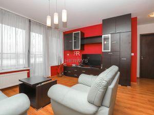 HERRYS - Na prenájom 2 izbový byt s garážovým státím a výhľadom na mesto v novostavbe III Veže