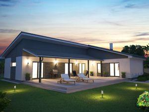 Ponúkame výstavbu nízkoenergetického montovaného rodinného dom