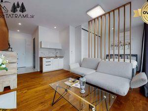 Nový apartmán v rekreačnom komplexe s bazénom Nízke Tatry