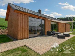 DELTA   4 izbová chata v projekte s krásnym výhľadom, investičná príležitosť, Dolná Lehota