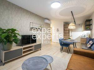 Krásny, dizajnový 2i byt, 51m2, terasa 9m2, parkovanie, Green Village