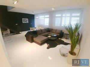 3-izbový mezonetový, zariadený byt s lodžiou (8 m2)