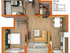 Dvojizbové byty s balkónom v novostavbe