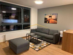 Prenájom 2 izbový byt v NOVOSTAVBE  s balkónom, pivnicou a parkovaním, Plynárenská ulica, Bratislava