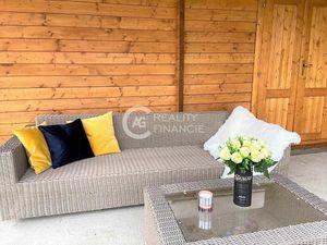 AG reality I na predaj krásna novostavba zrubového domu na chvíle oddychu v Hamuliakove