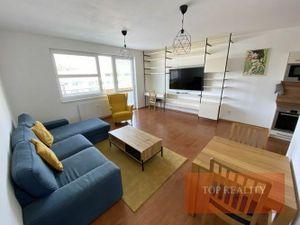 NOVOSTAVBA priestranný 3 izbový byt 79 m2, Trnava, ul. Botanická, Komplet 750,- € / mesiac. Voľný ih