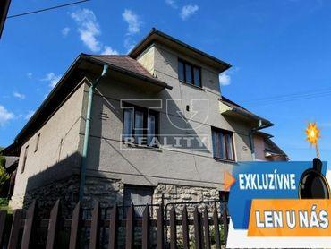 Exkluzívne na predaj rodinný dom VIDEO, VIZUALIZÁCIA, 3D reálne zábery, Liptovské Sliače 2311m2.