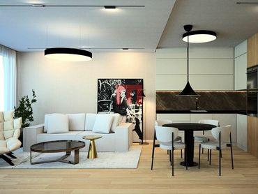 REZERVOVANÝ - Na predaj 2 izbový byt s lodžiou v SKY PARK veža 1 na 10 posch. orientovaný východne d