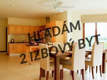 HĽADÁM pre konkrétneho klienta -> 2-izbový BYT, Bratislava, PETRŽALKA