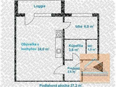 1,5 izb. NOVO zrekonštruovaný byt, BUČINOVA ul.