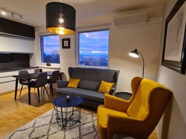 Novostavba - Luxusne zariadený 3i. byt na K. Mahra