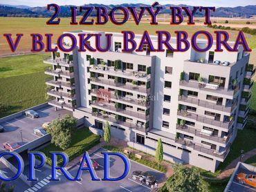 Novostavba 2-izbový byt Poprad-Nový Juh