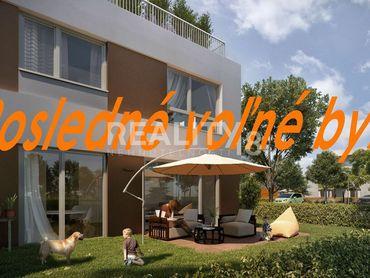 Predaj 4 izbového bytu s vlastnou záhradou v novostavbe Kynek -Pri Kaštieli.