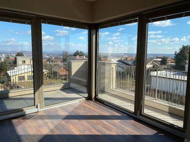 Prenájom 5 izb luxusný NEZARIADENÝ byt 210m2